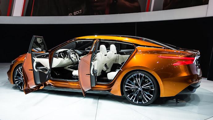 Wallpaper: New York Auto Show. Nissan Sport Sedan Concept