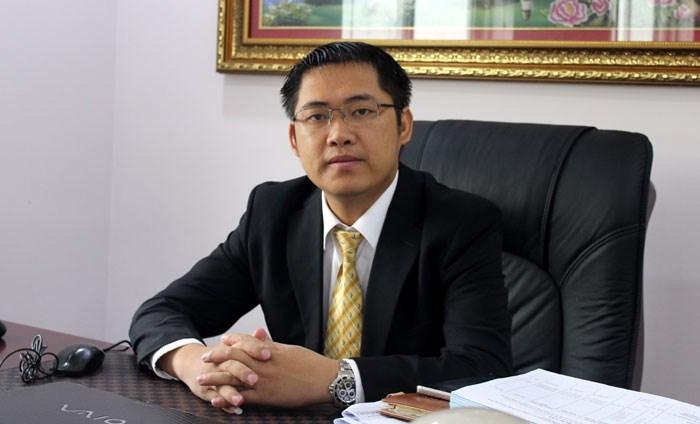 Ông Lê Tiến Dũng - Tổng giám đốc Tập đoàn Dược phẩm Vimedimex, đơn vị sở hữu thương hiệu bất động sản Vimefulland.