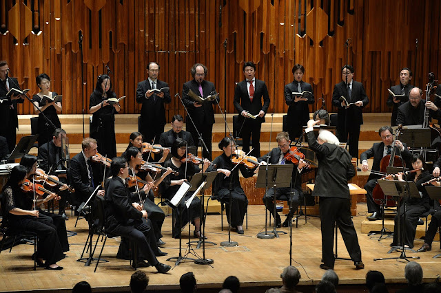 Masaaku Suzuki and the Bach Collegium Japan - photo credit Mark Allan / Barbican