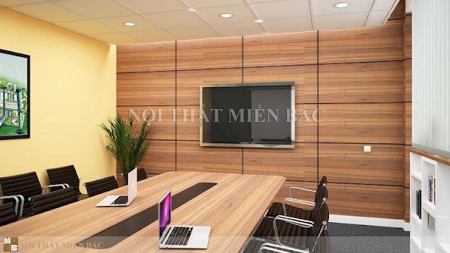 Hệ thống nội thất trong thiết kế nội thất phòng họp cần được bố trí, sắp xếp một cách khoa học nhằm mang tới điều kiện lý tưởng nhất