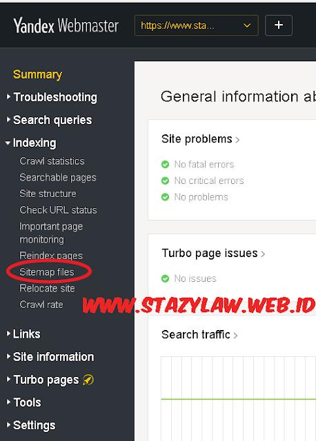 Cara Mendaftarkan Blog Ke Yandex Webmaster Terbaru 2018