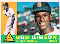 1960 Topps Bob Gibson