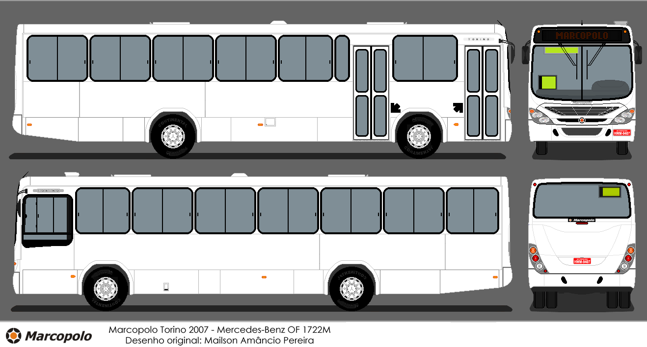 buscar bus desenho de nibus marcopolo torino g7. Black Bedroom Furniture Sets. Home Design Ideas