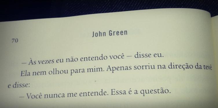 Resenha Quem é Você Alasca John Green Unicórnio Literário