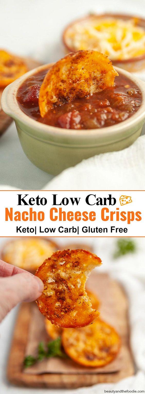 KETO NACHO CHEESE CRISPS-