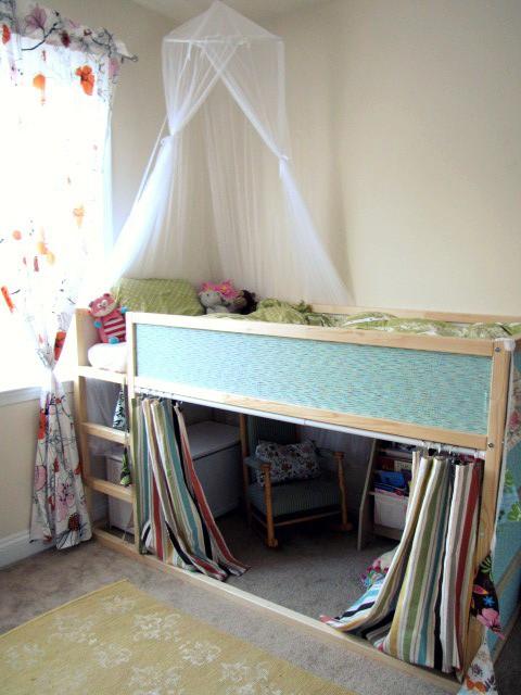 de la cama haga las veces de rincn de lectura cabaa y en definitiva lo conviertan en un espacio de juegos que a cualquier nio le encantara tener