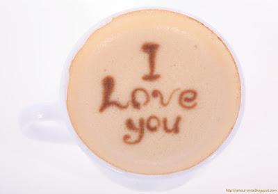 Message d'amour matinal pour sa chérie