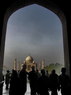 BLOG LUGARES DE MEMÓRIA - Matéria Taj Mahal - foto Sylvia Leite