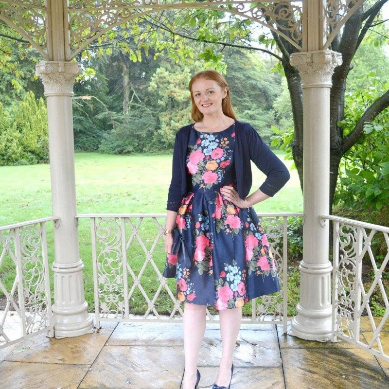 Wedding at Branston Hall - Chichi London Amber Dress