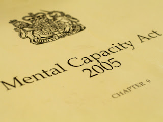 mental capacity act 2005 chapters