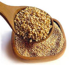 Las semillas de sésamo contienen metionina