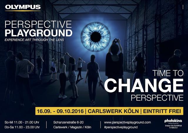 Was machst Du eigentlich am Freitag? Nun da solltest Du nach Köln fahren und dich mit einer Olympus im Anschlag durch den Perspektive Playground im Carlswerk hangeln.