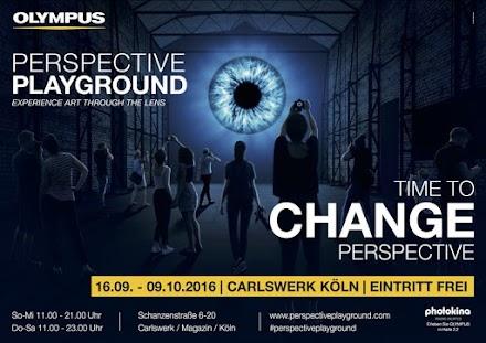 Olympus läd zum Perspective Playground ein | Das große  fotografische Experimentierfeld in Köln