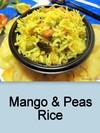 Mango & Peas Rice, Mangai Pattani Sadam