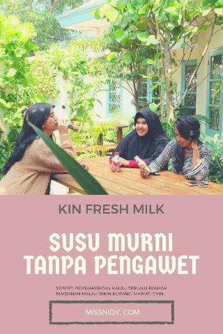 susu murni tanpa pengawet