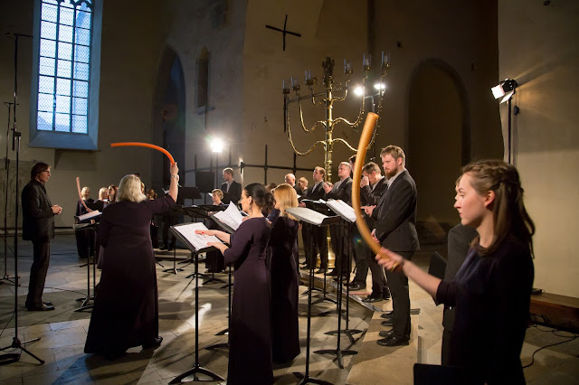 Estonian Philharmonic Chamber Choir, conductor Kaspars Putniņš at Estonian Music Days (Photo Peeter Langovits)