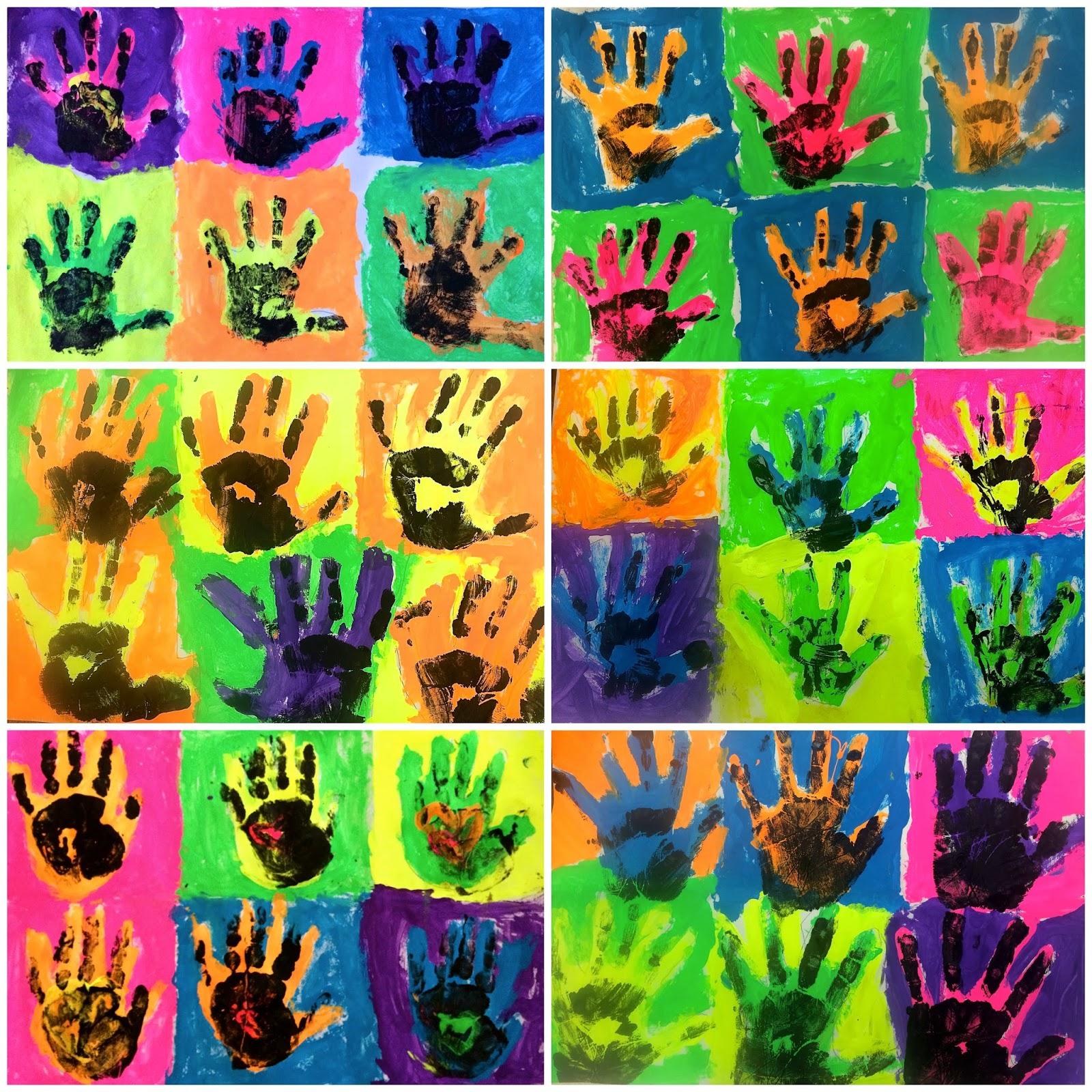 Art Eat Tie Dye Repeat Kindergarten Andy Warhol Pop