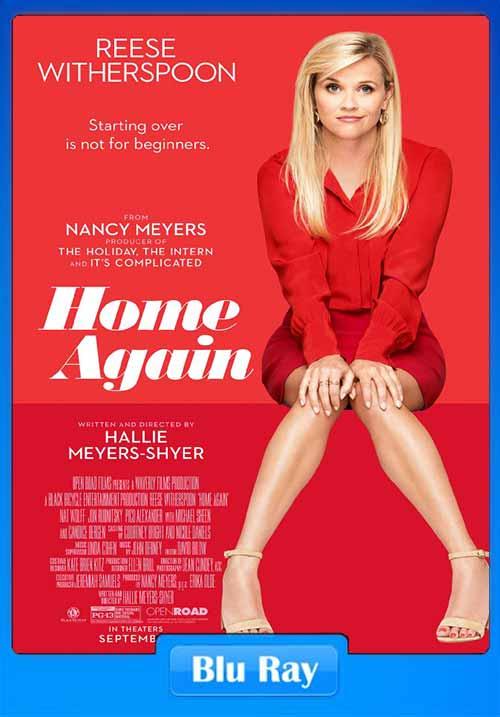 Home Again 2017 480p BRRip 300MB x264 Poster