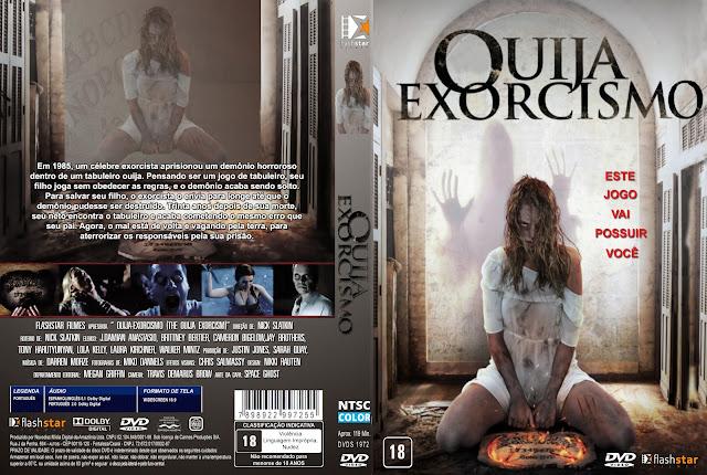 Capa DVD Ouija Exorcismo