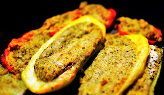 ricetta verdure ripiene vegan