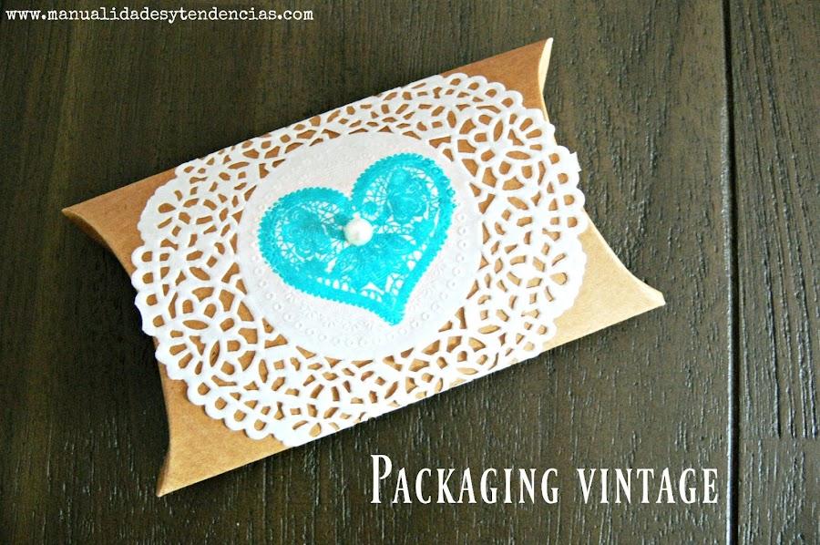 Caja almohada para regalos de invitados de boda