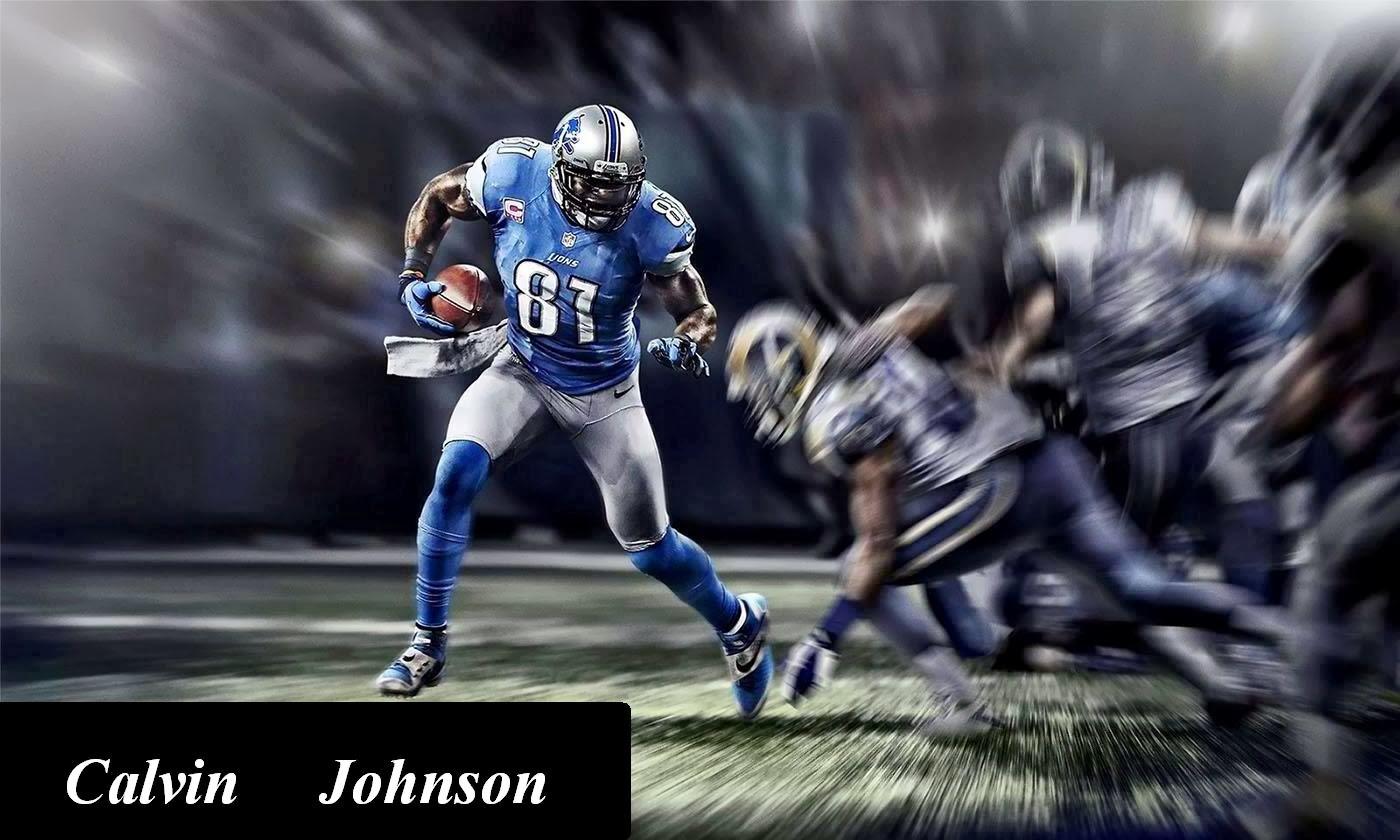 Words Celebrities Wallpapers: Calvin Johnson Fresh HD Wallpapers 2014
