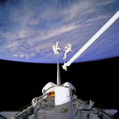 Fotos de caminatas espaciales 23