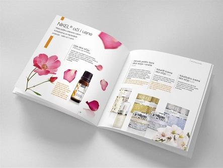 Hình ảnh một mẫu in catalogue giá rẻ cho công ty mỹ phẩm