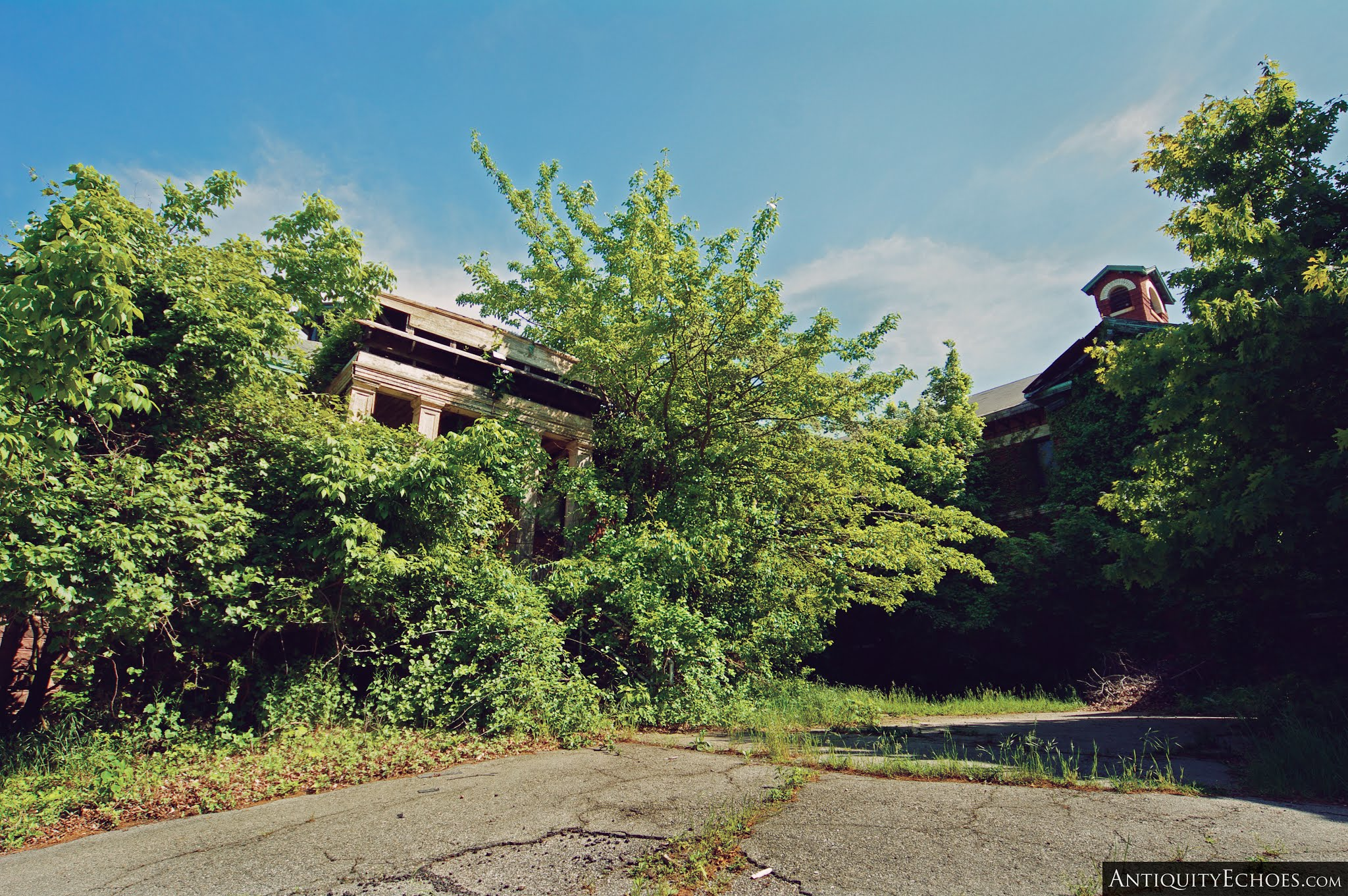 Overbrook Asylum - Overgrown MICA Ward