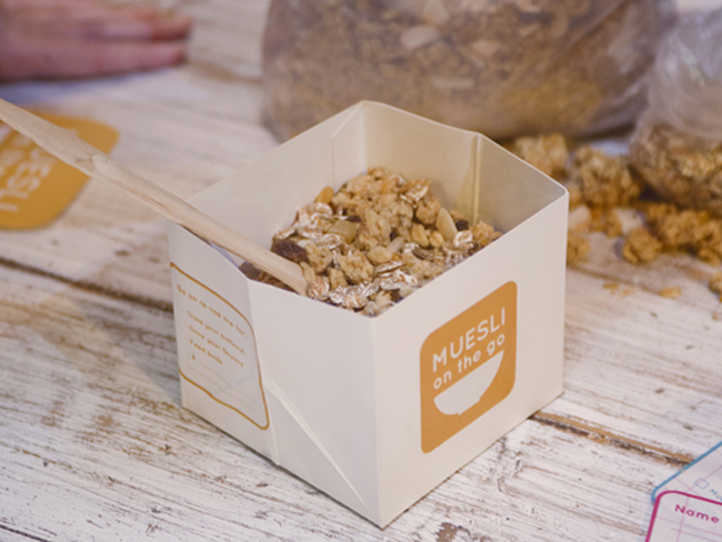 muesli on the go student work on packaging of the world creative package design gallery. Black Bedroom Furniture Sets. Home Design Ideas
