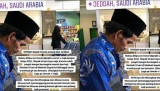 Seorang Kakek Asal Lombok Ditinggal Agen Travel di Jeddah Sendirian, Ceritanya Sangat Miris!