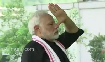 PM Modi posts his fitness video on his Twitter!   #NarendraModi