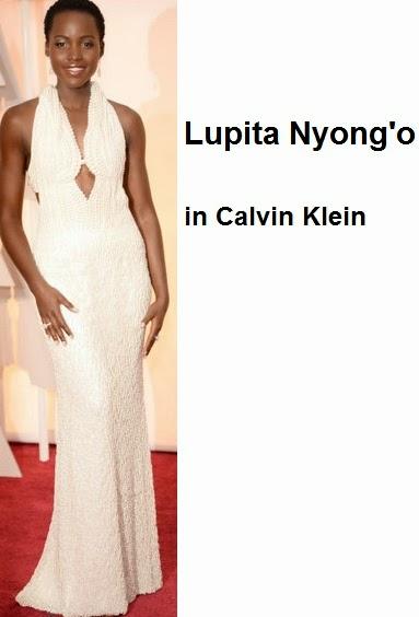 Lupita%2BNyong%C2%B4o%2Bin%2Bcalvin%2BKlein - Look Óscares 2015