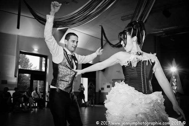 photo ouverture de bal de mariage