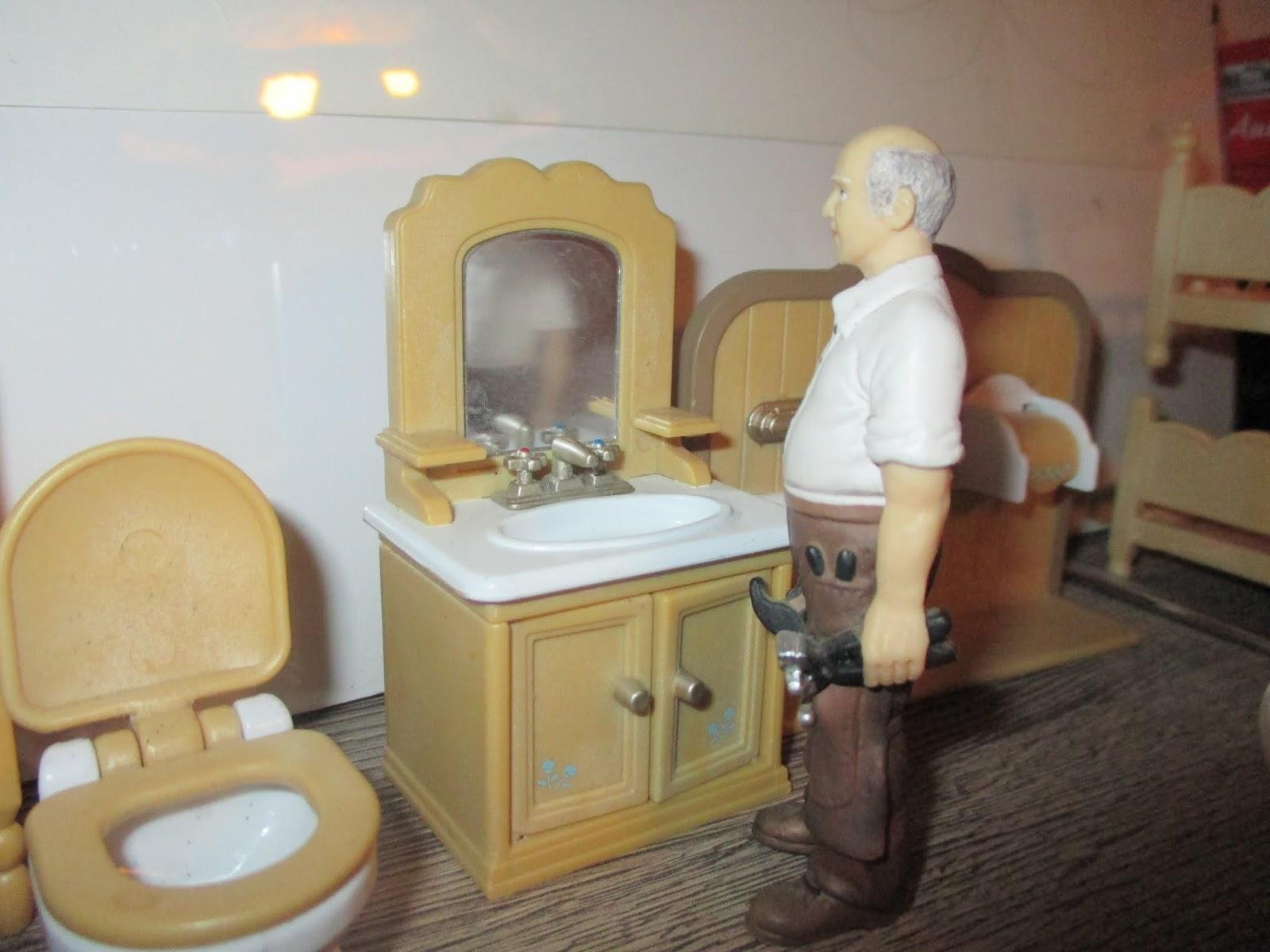 Miniaturowe Domki Mebelki Sylvanian Families Skala 118