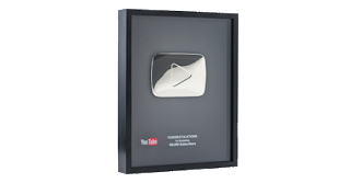 youtube quebra placa 100 mil inscritos