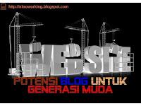 Potensi Blog Untuk Generasi Muda Indonesia