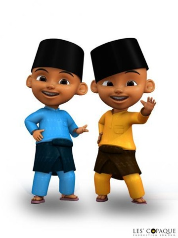 Wallpaper 3d Bergerak Free Download Upin And Ipin Wallpaper