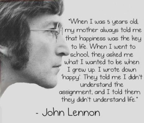 The Way I See It A Great Quote By John Lennon