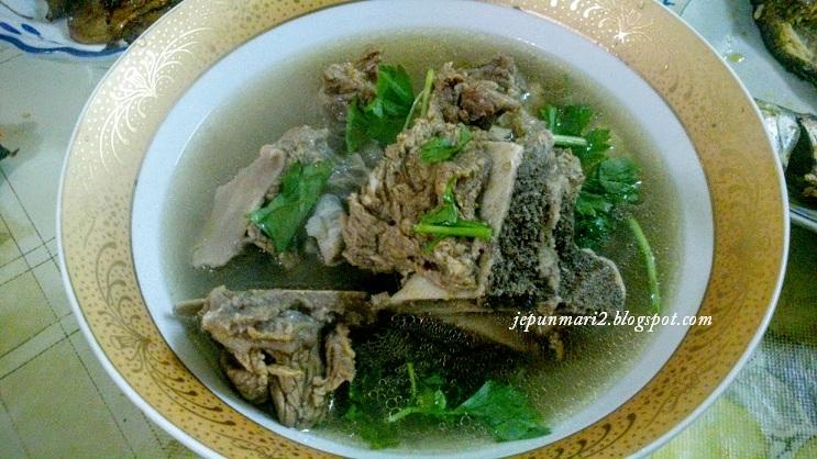 resepi sup tulang cepat masak