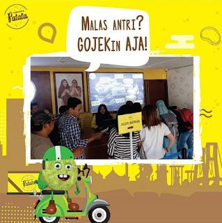 Alamat Surabaya Patata Kue Ria Ricis di Surabaya