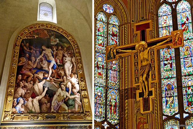 Obras de arte na Basílica de Santa Croce, Florença