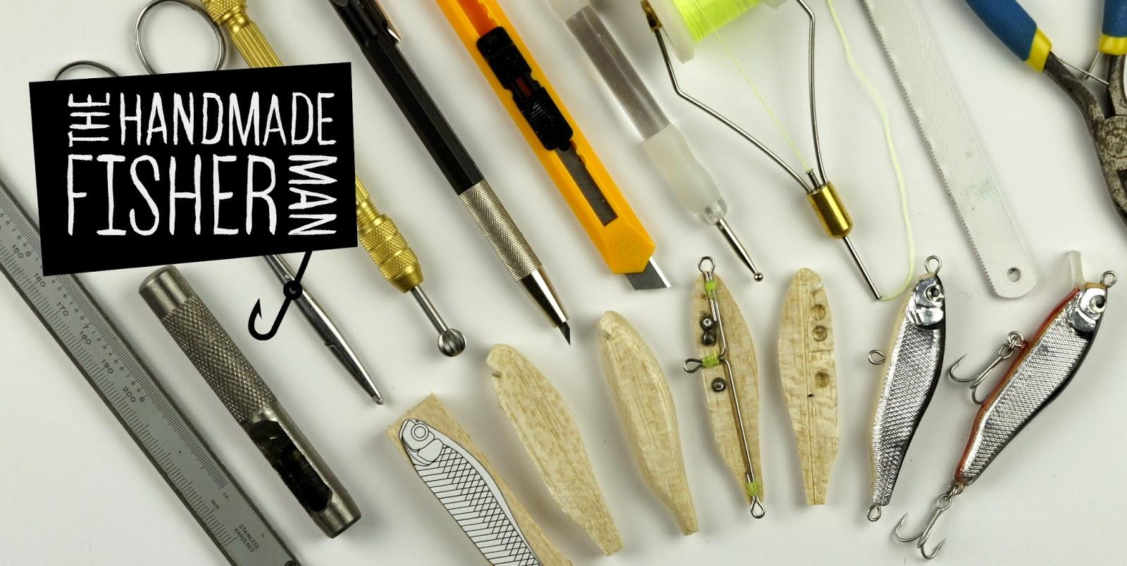 Homemade fishing lure blog the handmade fisherman for How to make a fishing lure