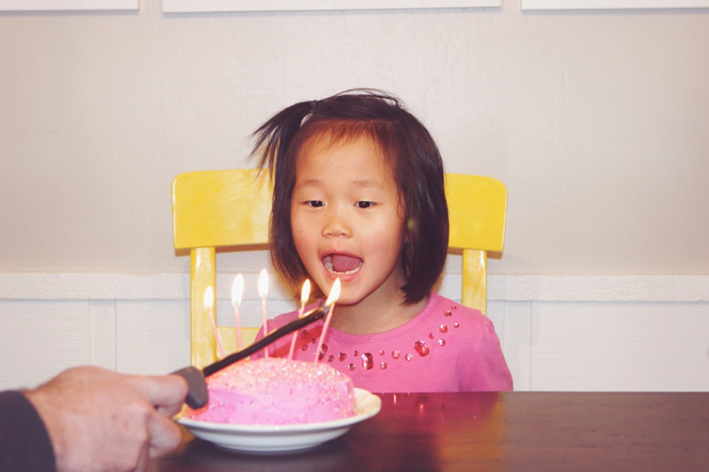 First Birthday for an Adopted Chinese 5 year old girl