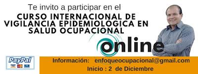 Curso Internacional de Vigilancia Epidemiológica  en Salud Ocupacional