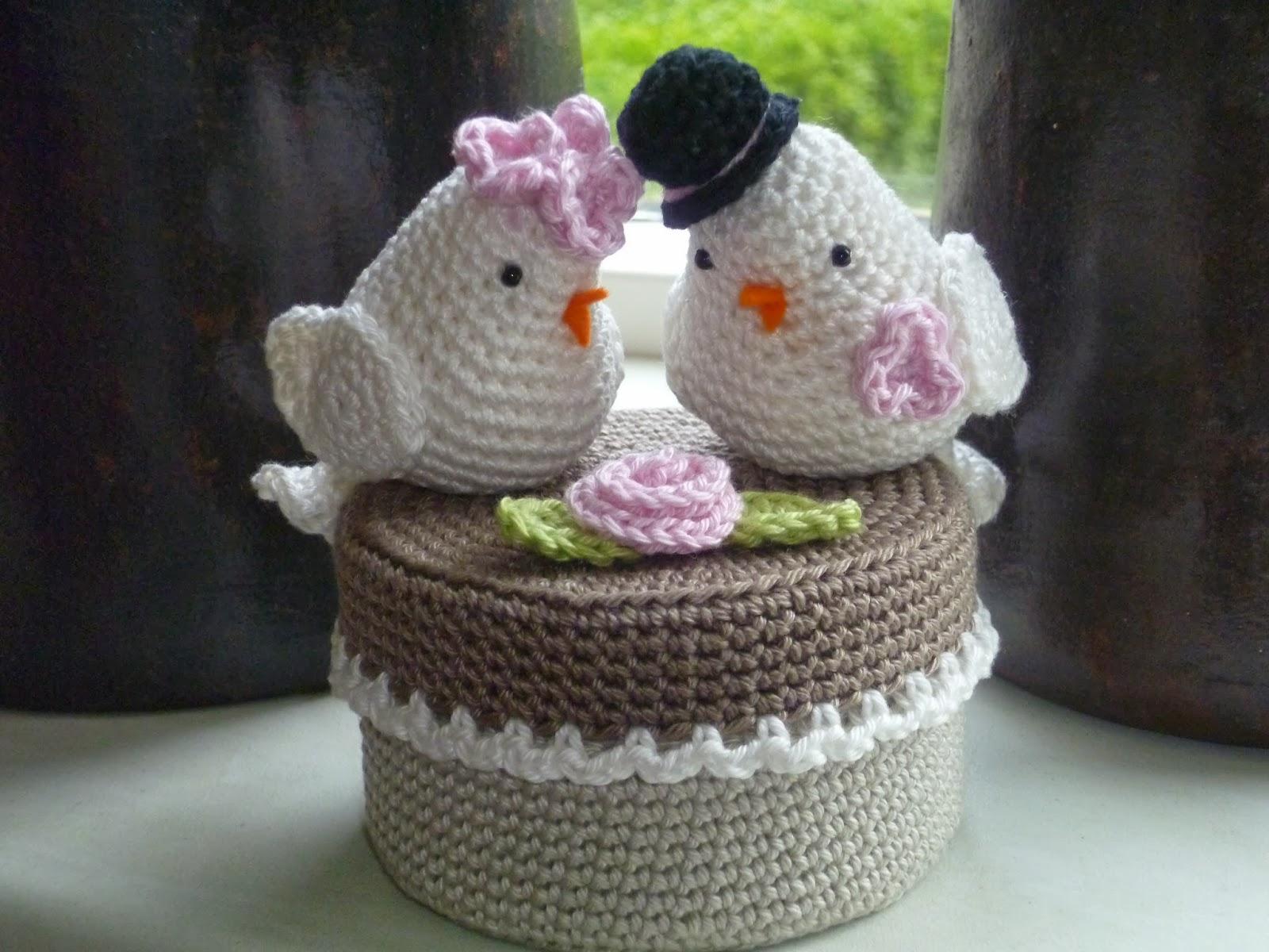 Stitches From Holland Huwelijkscadeautje Voor Tortelduifjes
