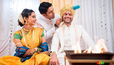 Ravish-Desai-And-Mugdha-wedding