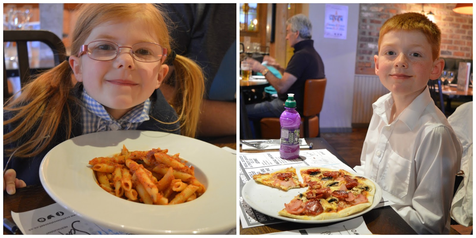 Children's menu - Scalini's Gosforth