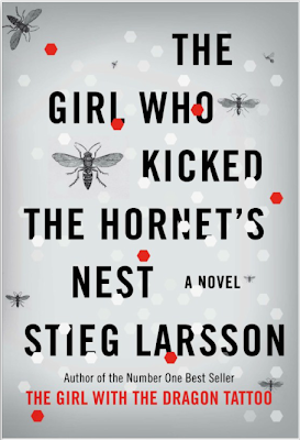 The Girl who Kicked the Hornet's Nest by Stieg Larsson - book cover