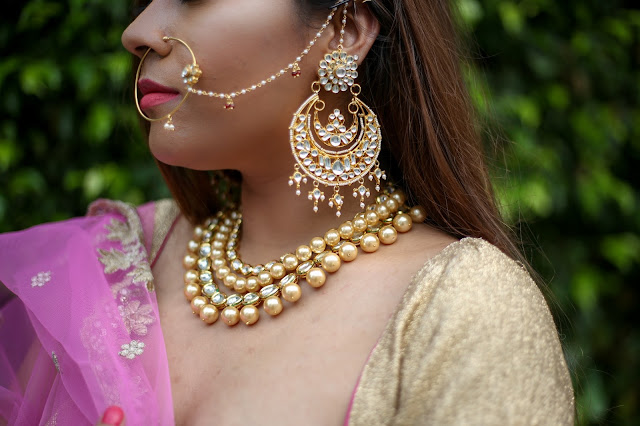 chandbali, mugal juwelry, indian jewelry, T&J boutique, nose ring, bridal jewelry, lengha, how to stye lenga, how to style chandbali, india wedding guest outfit, wedding outfit, fashion, kundan jewelry, delhi blogger, mang tika,how to style mang tika,beauty , fashion,beauty and fashion,beauty blog, fashion blog , indian beauty blog,indian fashion blog, beauty and fashion blog, indian beauty and fashion blog, indian bloggers, indian beauty bloggers, indian fashion bloggers,indian bloggers online, top 10 indian bloggers, top indian bloggers,top 10 fashion bloggers, indian bloggers on blogspot,home remedies, how to